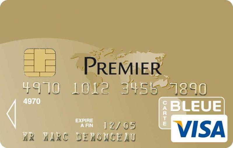 Comparatif Des Cartes Visa Premier Billet De Banque