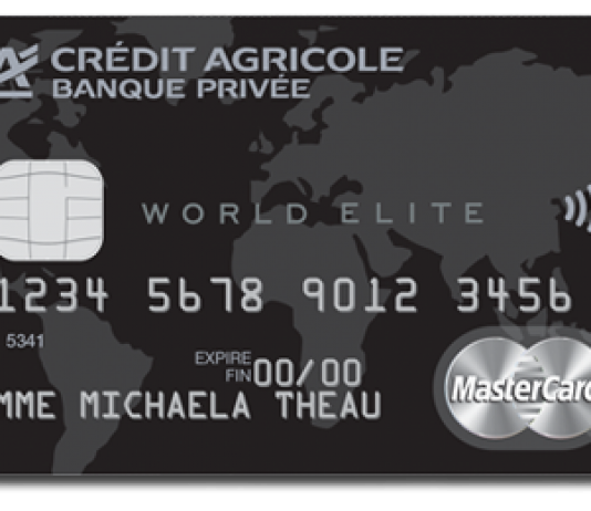Comparatif des cartes World Elite Mastercard