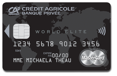 Comparatif des cartes World Elite Mastercard