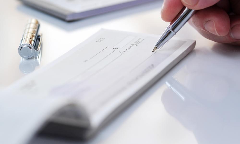 Comment Remplir Un Bordereau De Cheque Billet De Banque