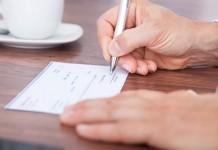 Chèque en blanc