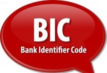 Code BIC