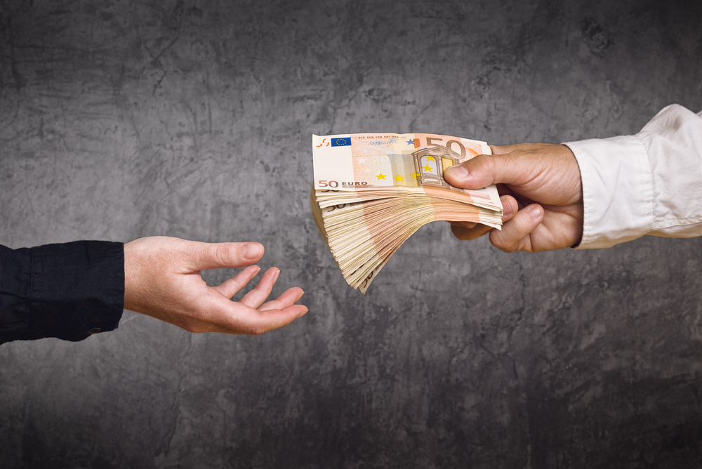 La différence entre créanciers et débiteurs - billet de banque