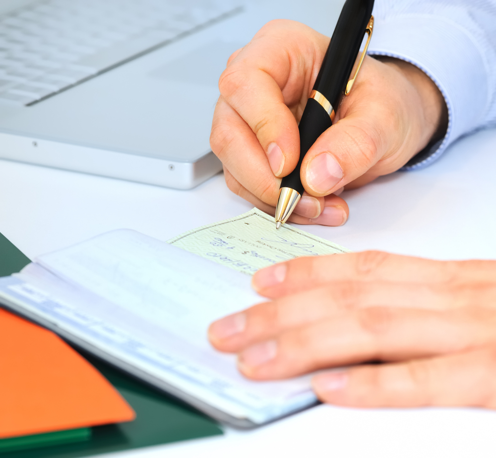 Encaisser chèque en ligne