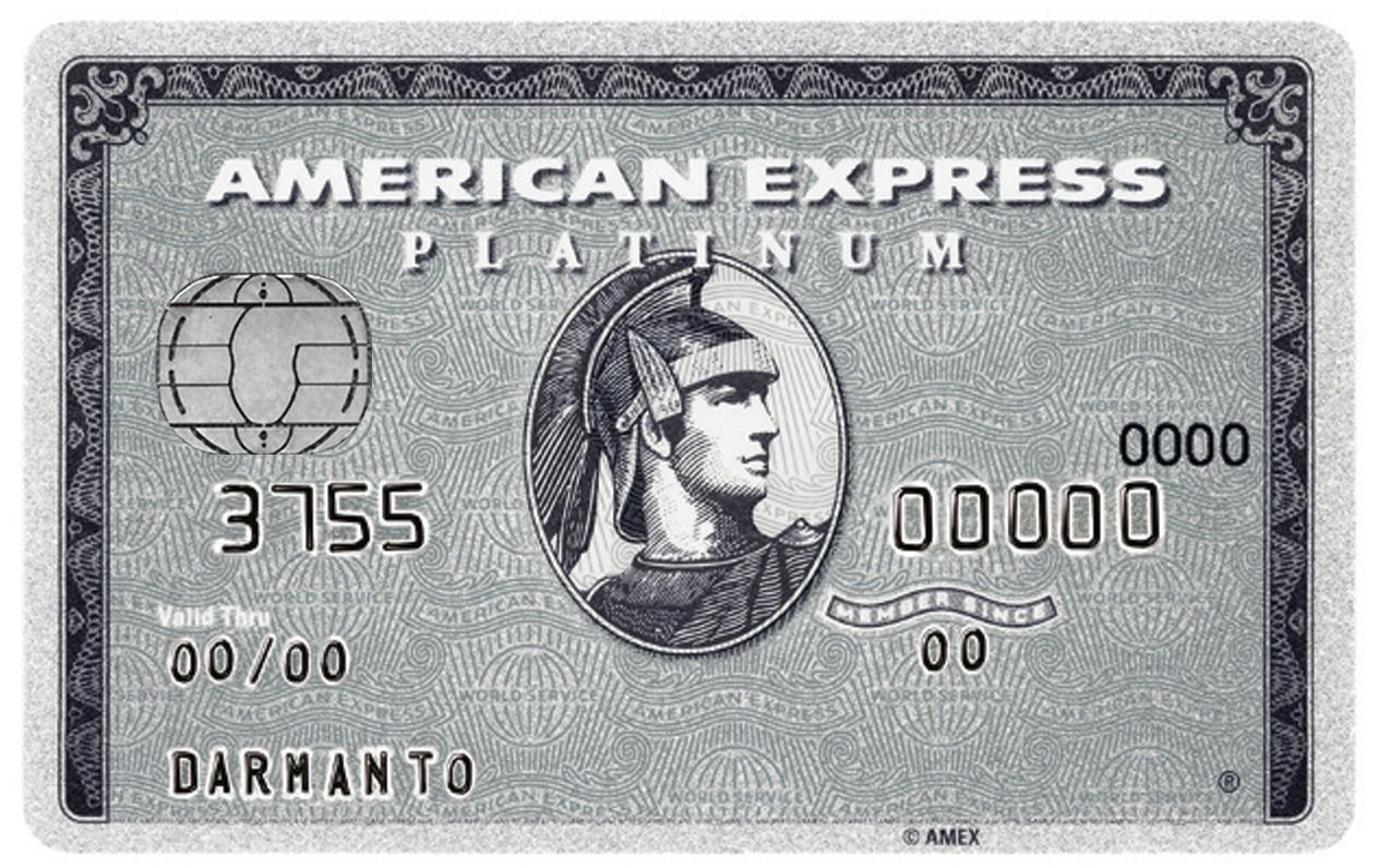 Carte American Express Retrait.Platinum La Carte Tres Haut De Gamme D American Express Billet