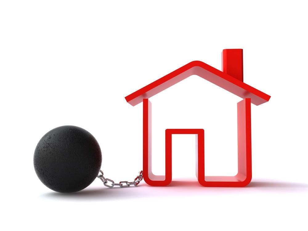 situation de d couvert et pr t immobilier billet de banque. Black Bedroom Furniture Sets. Home Design Ideas