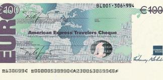 Traveller cheque