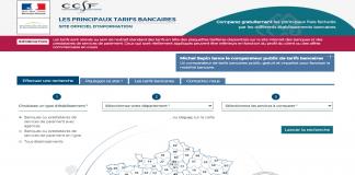 comparateur public de tarifs bancaires