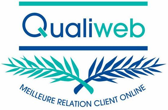 Trophée Qualiweb de la relation client en ligne : Fortuneo récompensé