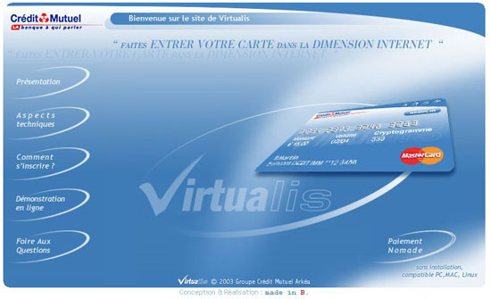 Virtualis La Cb Virtuelle Du Credit Mutuel Arkea Reconnue Pour Son