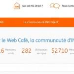 Web Café ING Direct France
