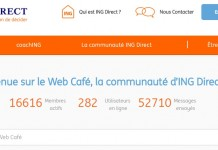 Web Café ING Direct France