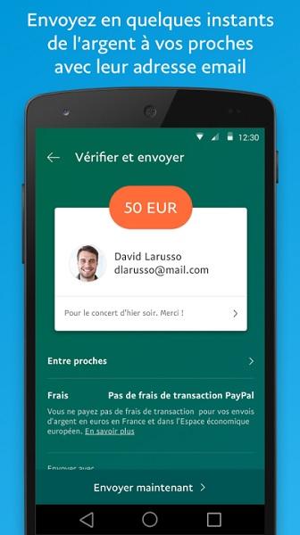 Appli PayPal