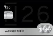Black card N26