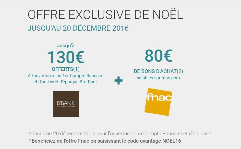210€ BforBank décembre 2016