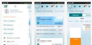 Appli mobile Crédit Agricole