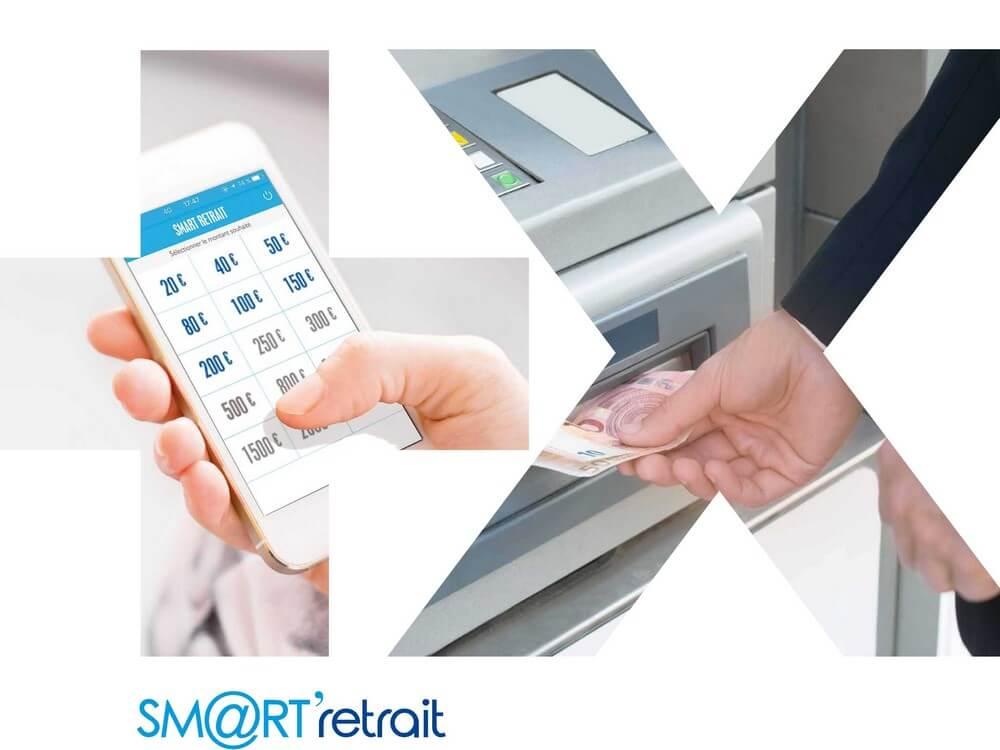 Smart Retrait Retirez Du Cash Sans Cb A La Banque