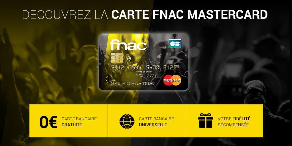 La Fnac Lance A Son Tour Sa Carte Bancaire Billet De Banque