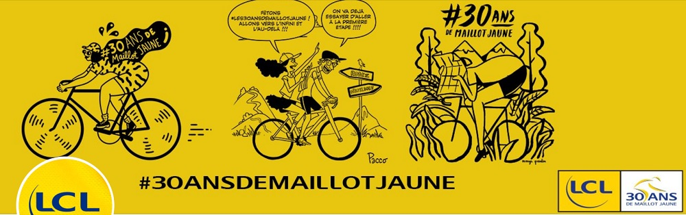 LCL - 30 ans du Maillot Jaune