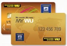 Carte La banque Postale-Western Union