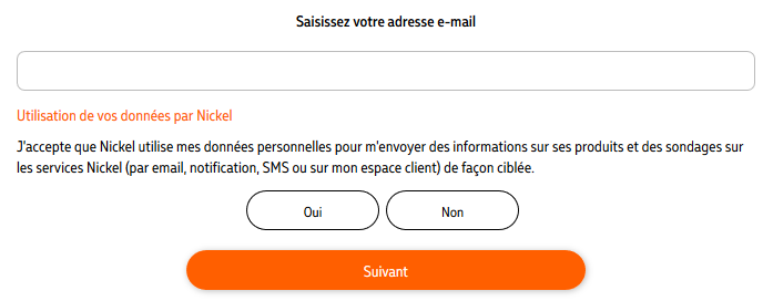 Adresse mail compte nickel