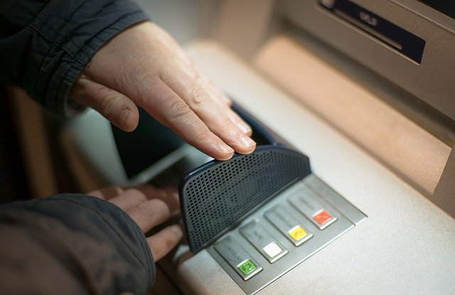 Cacher son code de carte bancaire