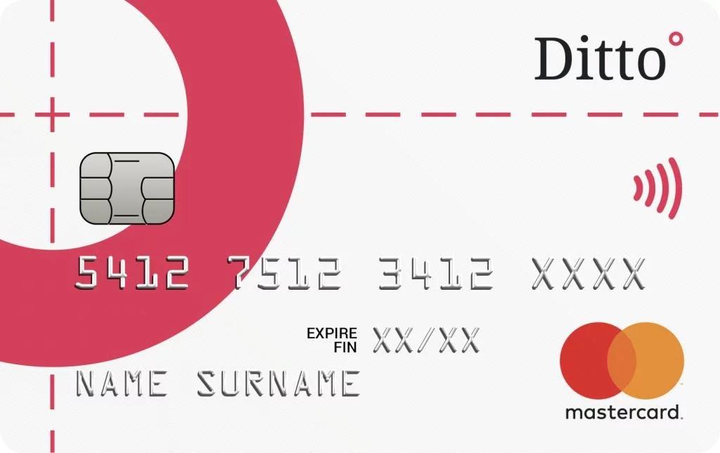 Carte Ditto Bank