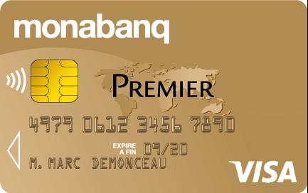 Carte Visa Premier Monabanq