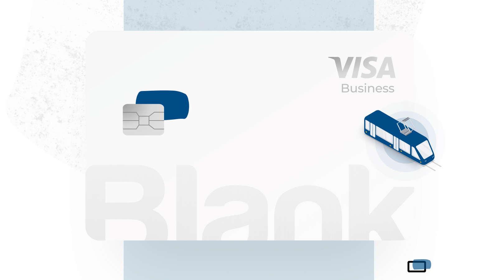Blank Visa Classic