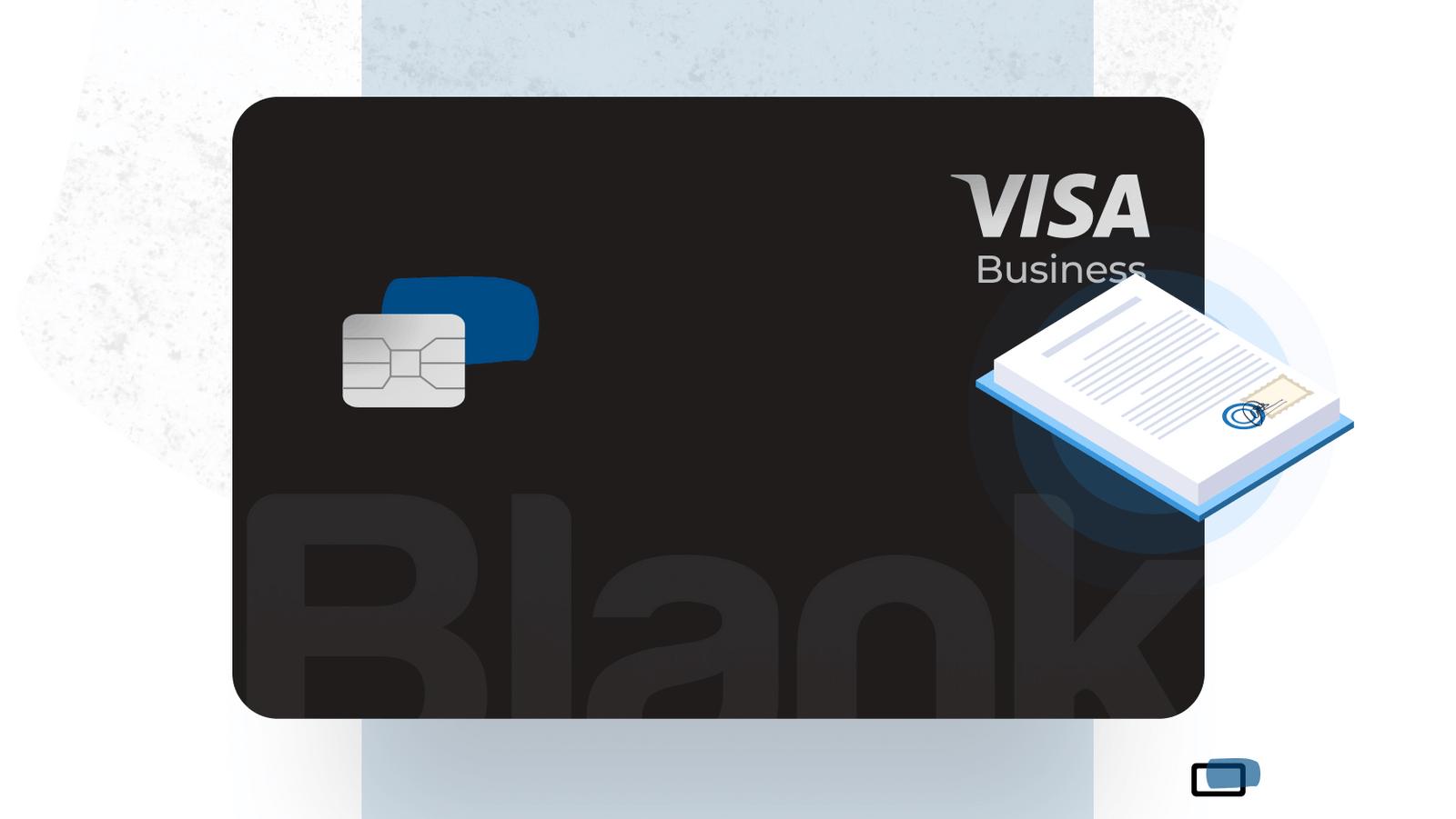 Blank Visa Premier