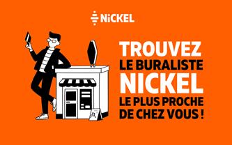 Trouver un buraliste Nickel