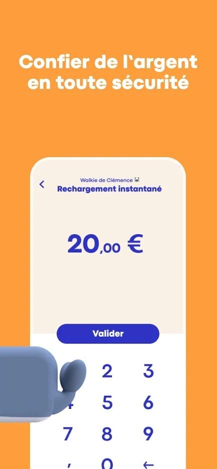 Money Walkie Application
