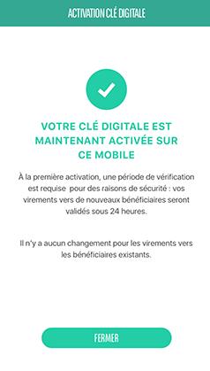 Clé Digitale BNP Paribas