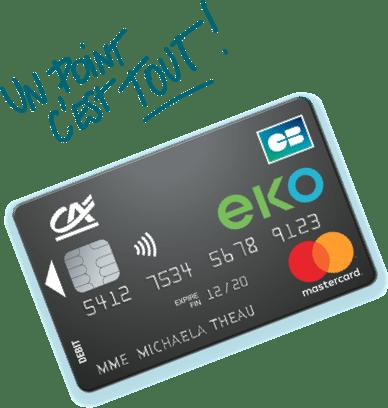 Carte EKO by CA